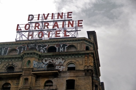 The Divine Lorraine Hotel's legacy on North Broad StreetIf Eric Blumenfeld, the new owner of the Divine Lorraine Hotel, goes forward with his plans, the hotel will be at the center of a more comprehensive idea for revitalizing part of North Broad Street. (Emma Lee/for NewsWorks)